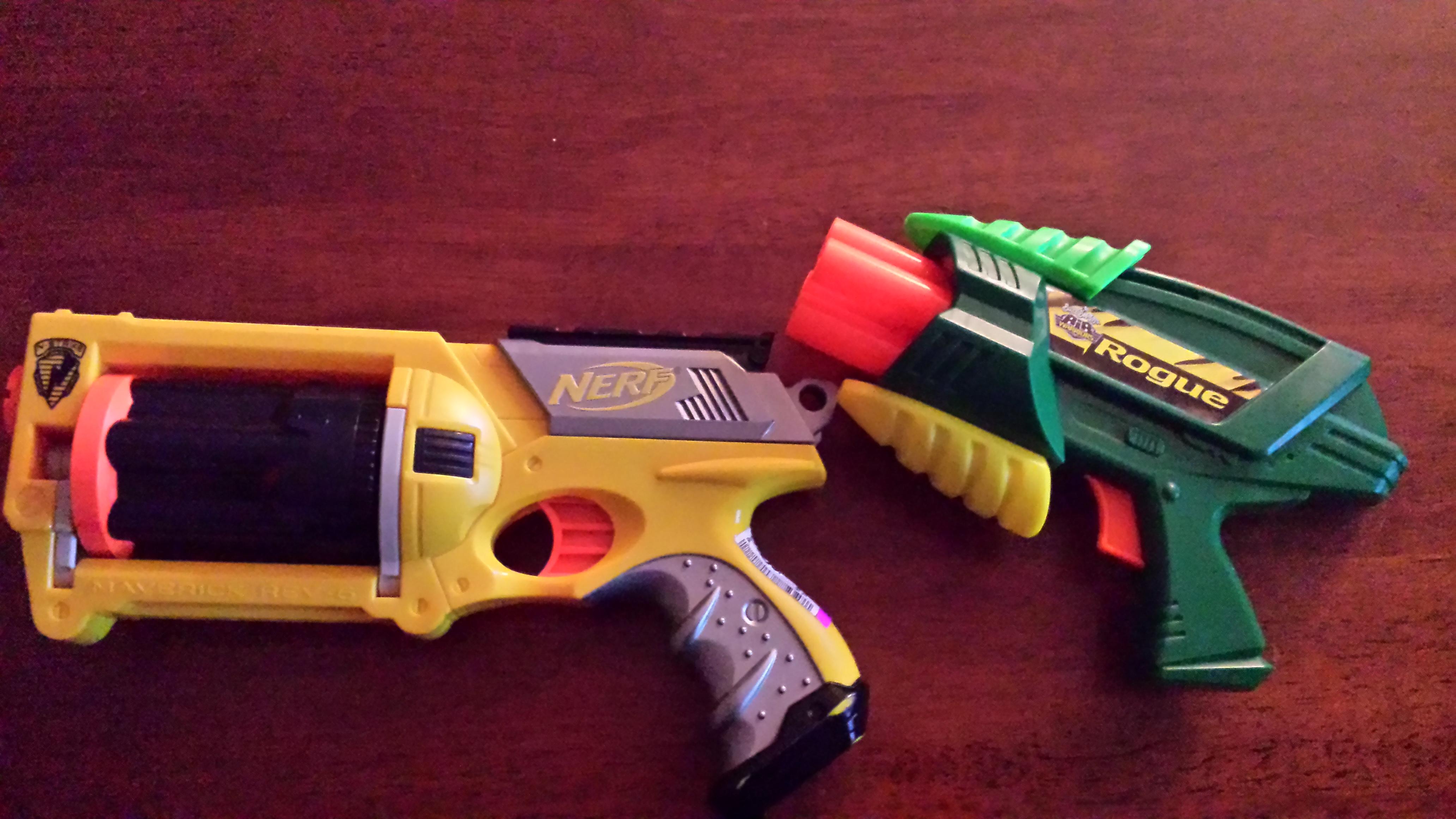 Image is loading Star-Wars-Inspired-Custom-Painted-Nerf-Rifle-Blaster-